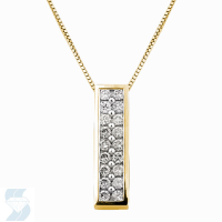 3823 0.54 Ctw Fashion Pendant