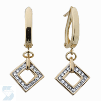 03838 0.27 Ctw Fashion Earring