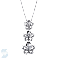 3903 0.21 Ctw Fashion Pendant