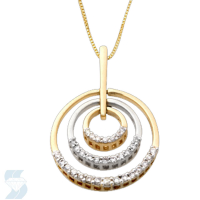 3909 0.24 Ctw Fashion Pendant