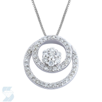 04018 0.62 Ctw Fashion Pendant
