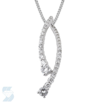 4051 0.47 Ctw Fashion Pendant