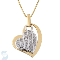 4057 0.16 Ctw Fashion Pendant