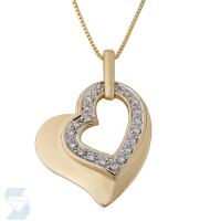 4058 0.11 Ctw Fashion Pendant