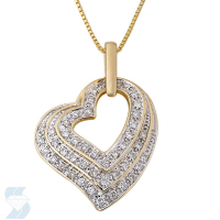 4059 0.24 Ctw Fashion Pendant