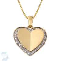 4064 0.11 Ctw Fashion Pendant