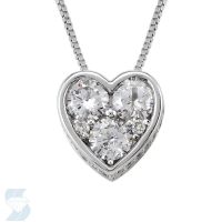 4258 0.99 Ctw Fashion Pendant