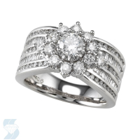 4296 1.98 Ctw Bridal Multi Stone Center