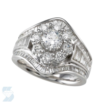 4297 2.12 Ctw Bridal Multi Stone Center