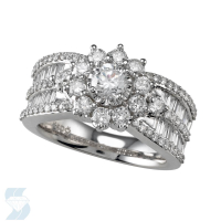 04298 1.57 Ctw Bridal Multi Stone Center