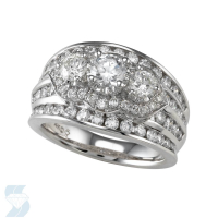 04299 1.96 Ctw Bridal Multi Stone Center