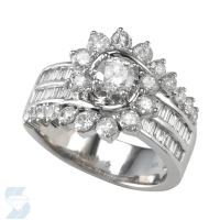 04308 1.56 Ctw Bridal Multi Stone Center