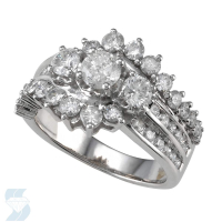 4309 1.97 Ctw Bridal Multi Stone Center