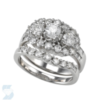 04310 1.97 Ctw Bridal Multi Stone Center