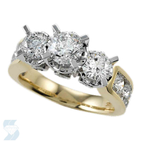04346 3.14 Ctw Bridal Engagement Ring