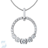 4380 0.72 Ctw Fashion Pendant