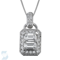 4409 0.93 Ctw Fashion Pendant