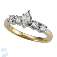 4489 0.60 Ctw Bridal Engagement Ring