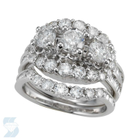 04503 3.08 Ctw Bridal Multi Stone Center