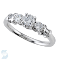 04536 0.76 Ctw Bridal Engagement Ring