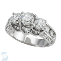 04539 3.08 Ctw Bridal Engagement Ring