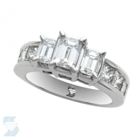 04543 2.99 Ctw Bridal Engagement Ring