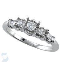 04641 0.27 Ctw Bridal Engagement Ring