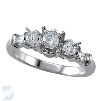 04643 0.49 Ctw Bridal Engagement Ring