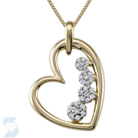 04645 0.24 Ctw Fashion Pendant