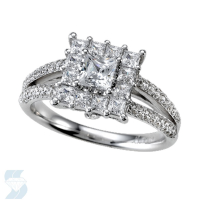 04685 1.44 Ctw Bridal Engagement Ring
