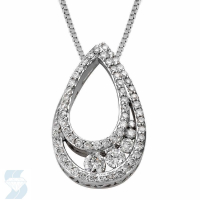4738 0.48 Ctw Fashion Pendant
