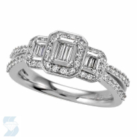 4756 0.66 Ctw Bridal Engagement Ring