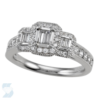 4757 0.74 Ctw Bridal Engagement Ring