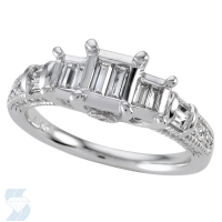 4832 0.69 Ctw Bridal Engagement Ring