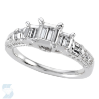 04833 0.58 Ctw Bridal Engagement Ring