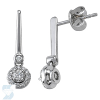 04853 0.26 Ctw Fashion Earring