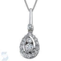 4854 0.71 Ctw Fashion Pendant