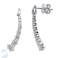 4874 1.48 Ctw Fashion Earring