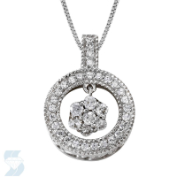 4884 0.29 Ctw Fashion Pendant