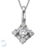 4912 0.41 Ctw Fashion Pendant