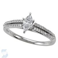 4928 0.53 Ctw Bridal Engagement Ring