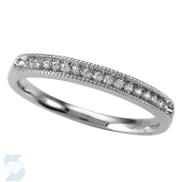 4961 0.10 Ctw Bridal Band
