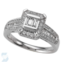 4968 0.59 Ctw Bridal Engagement Ring