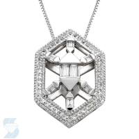 05003 0.26 Ctw Fashion Pendant