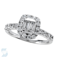 05088 0.87 Ctw Bridal Engagement Ring