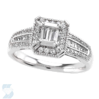 05100 0.56 Ctw Bridal Engagement Ring
