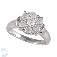 05104 1.00 Ctw Bridal Multi Stone Center