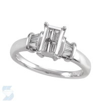 05106 0.35 Ctw Bridal Engagement Ring
