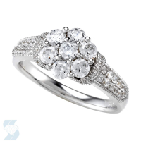 5133 1.01 Ctw Bridal Multi Stone Center