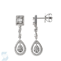 05138 0.56 Ctw Fashion Earring